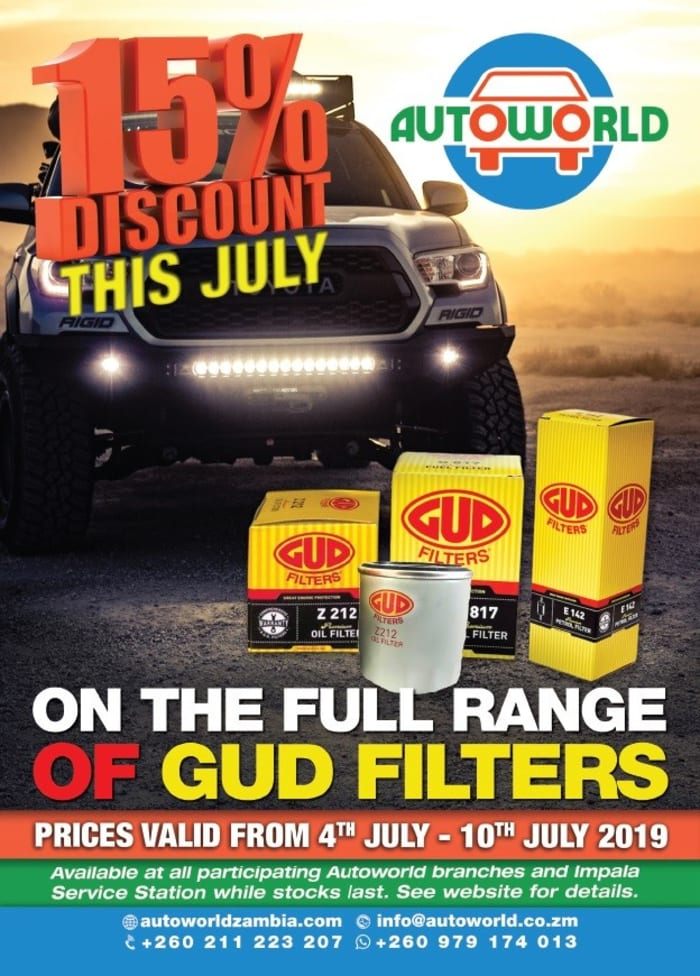 July special on GUD filters
