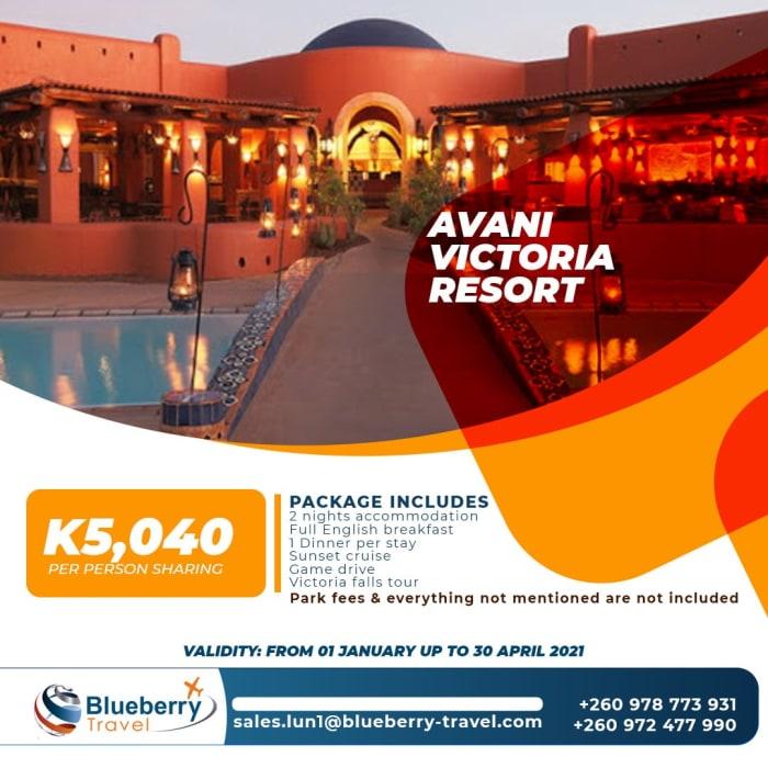 Avani Victoria Resort package - 2 nights stay