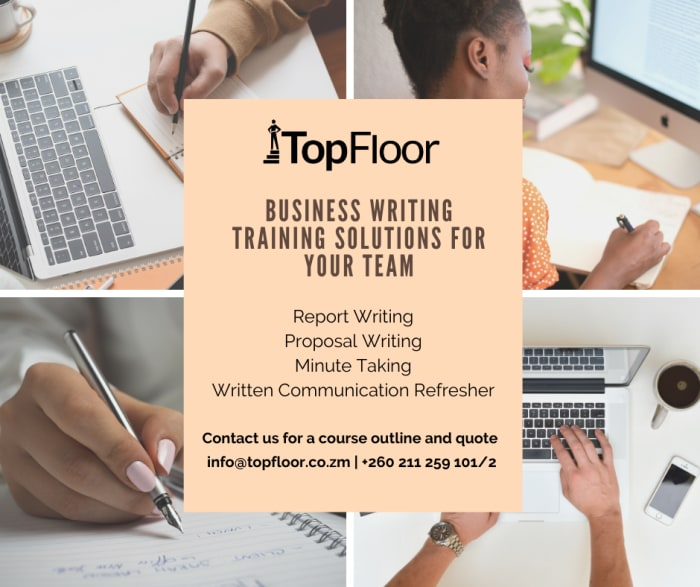 Business writing training solutions for your team