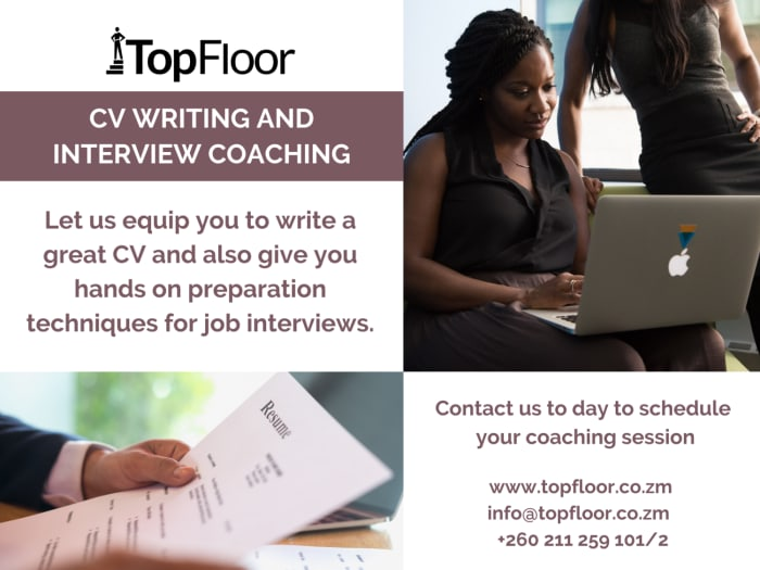 CV writing and interview coaching