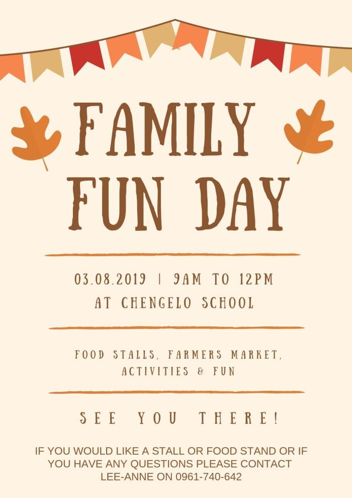 Family fun day at Chengelo School