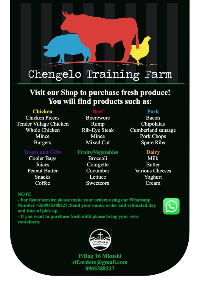 Visit Chengelo Training Farm to purchase fresh produce