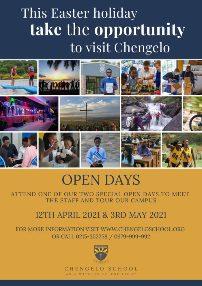 This Easter holiday take the opportunity to visit Chengelo