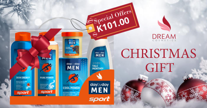 Day by Day men sport Vanity kit Christmas special