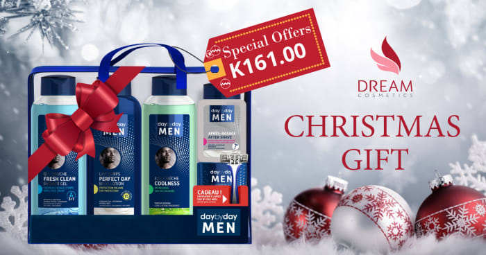 Day by Day men Vanity kit Christmas special