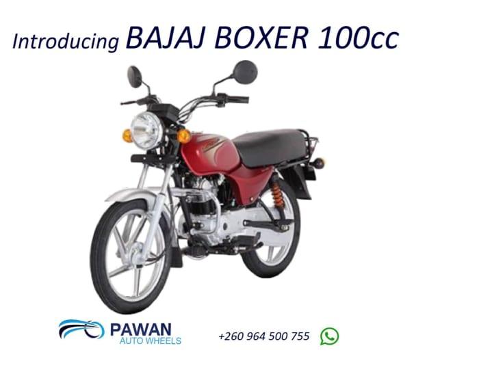 Introducing BAJAJ Boxer 100cc