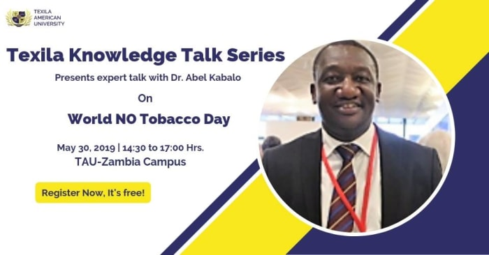Knowledge Talk Series - World No Tobacco Day