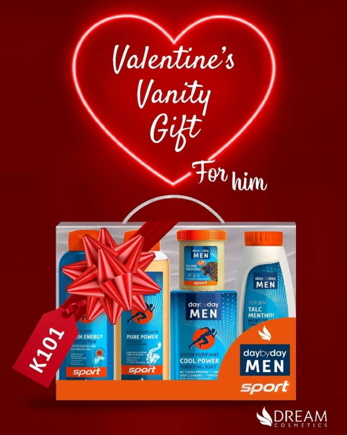 Valentine's Vanity gift for him - Sport Collection