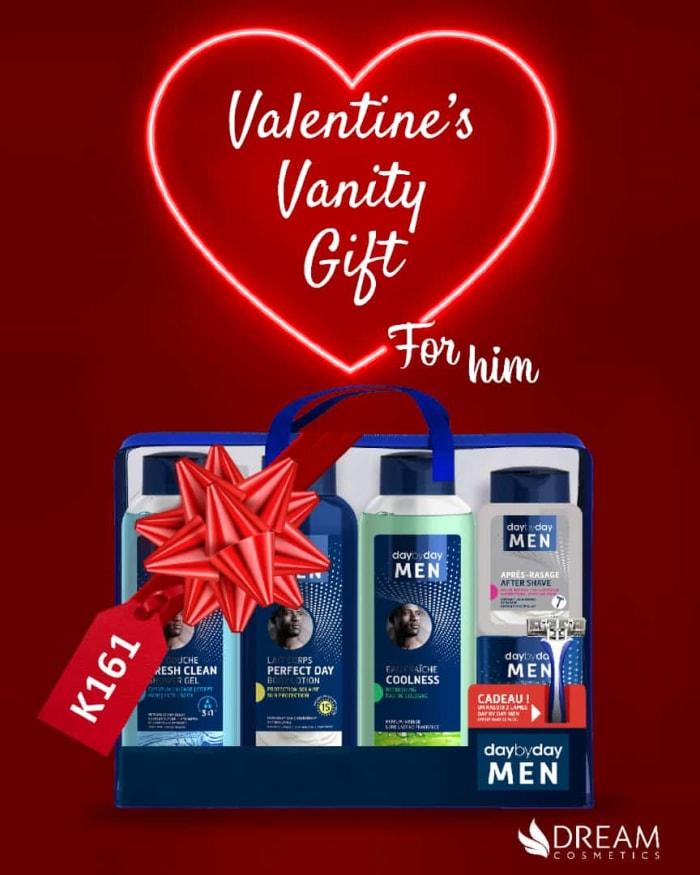 Valentine's Vanity gift box for him