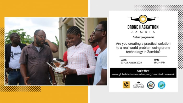 'Drone Hackathon Zambia'- a Virtual Business Competition for Young Zambian Entrepreneurs