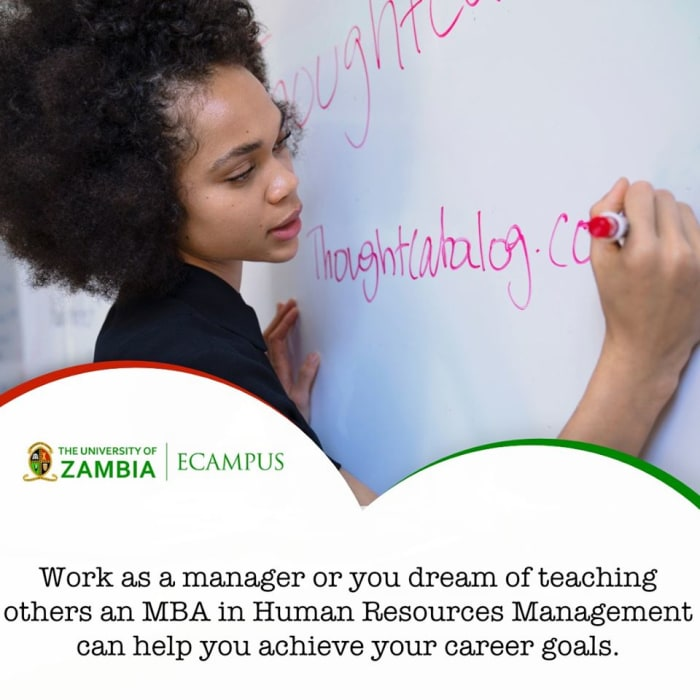 Earn your MBA 100% online with the University of Zambia