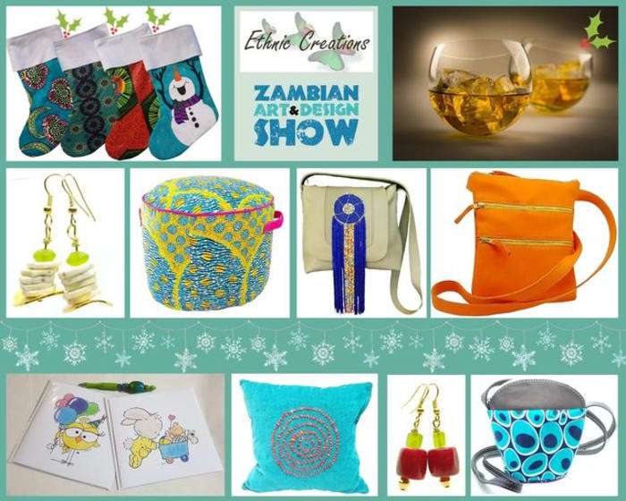 Bags and soft furnishings by Ethnic Creations Zambia