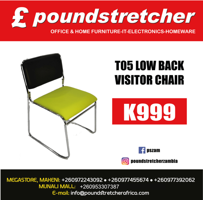 T05 Low back visitor chair