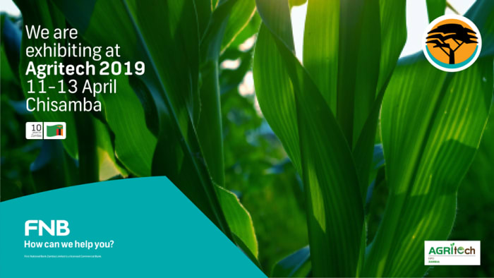 FNB to exhibit at the Agritech Expo