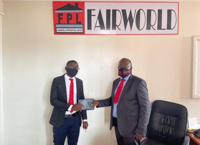Fairworld Properties is happy to introduce a new member to their Kitwe office