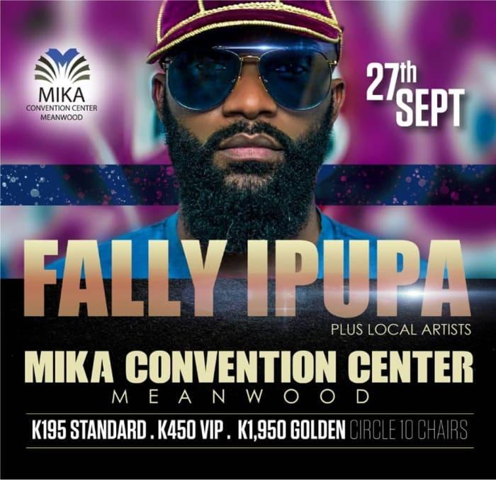 Fally Ipupa live in Zambia
