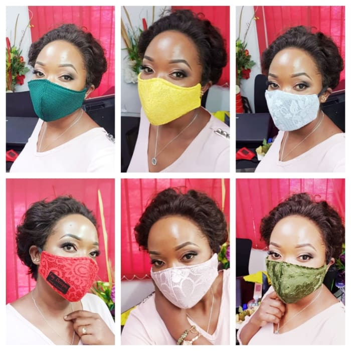 Washable masks to suit your outfits