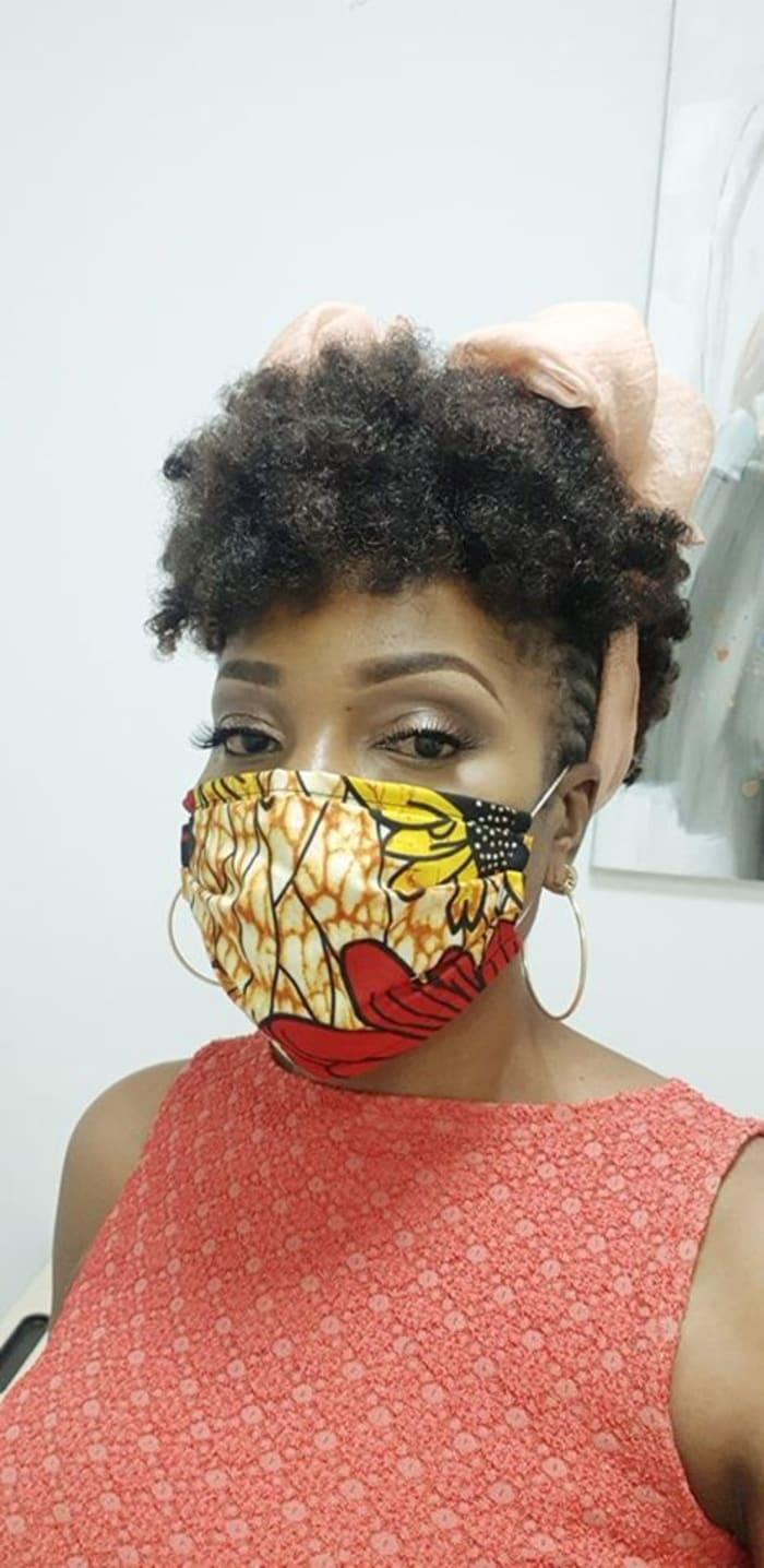 Chitenge reusable face masks for sale