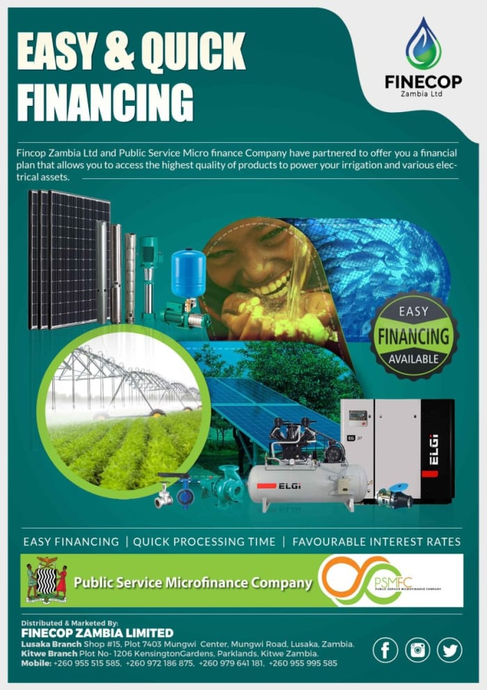Easy and quick financing now available