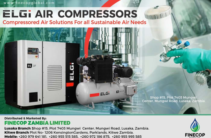 Complete range of compressed air solutions
