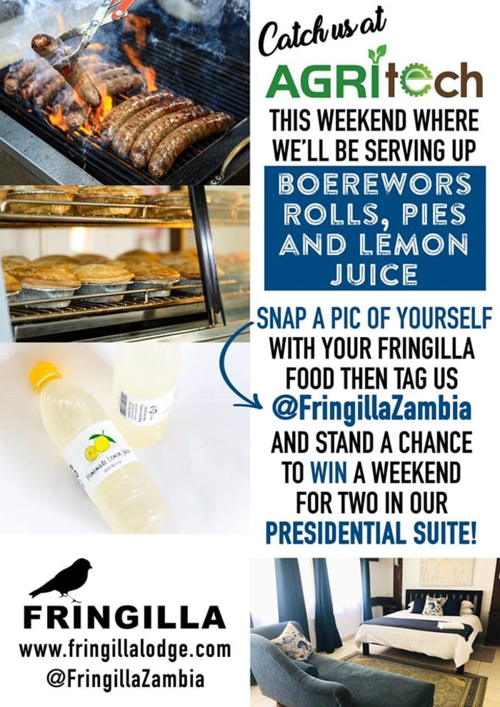 Win with Fringilla at the Agritech Expo!