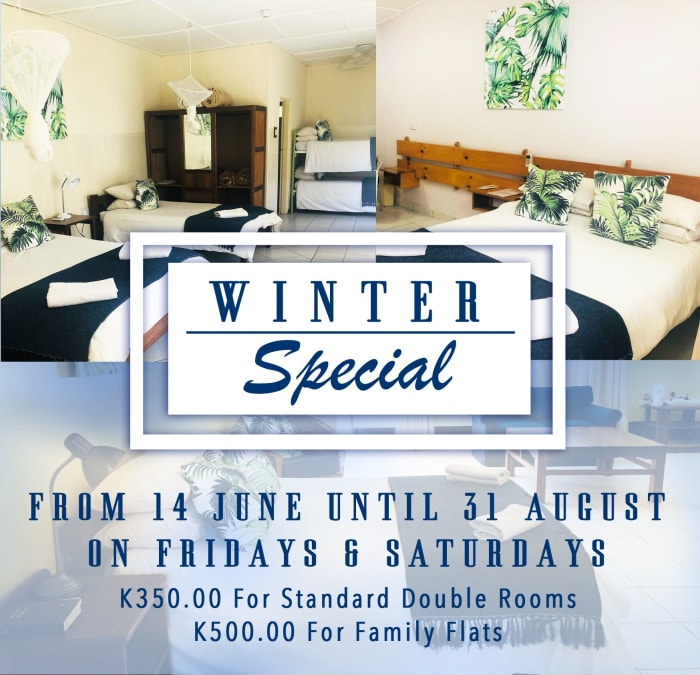 Winter accommodation specials