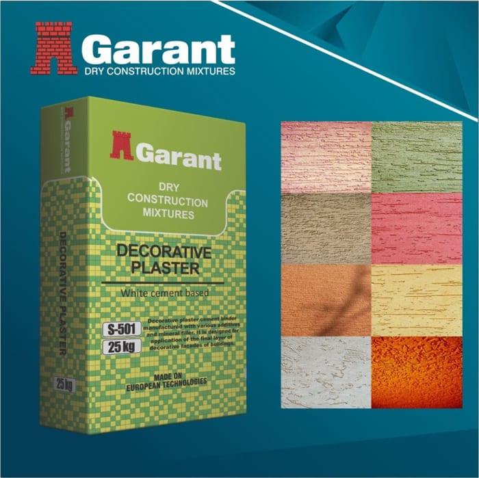 Garant decorative plaster