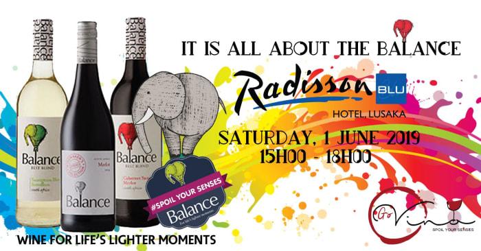 Balance Wine tasting event