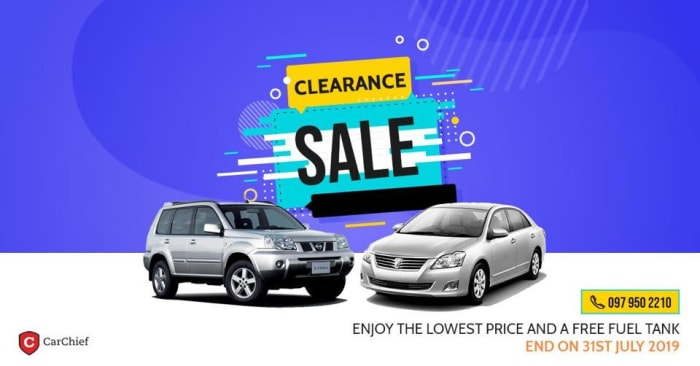 Enjoy the lowest price and a free fuel tank
