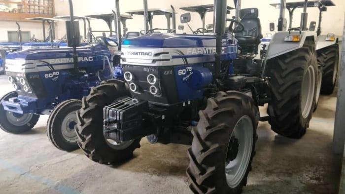 Tractors for harvesting season