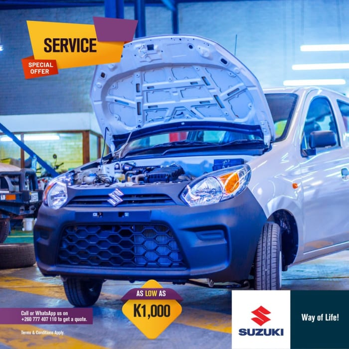 Special offer on car servicing