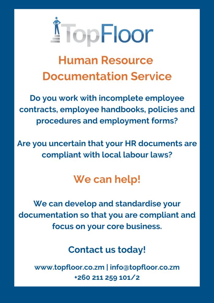 Human Resource documentation service