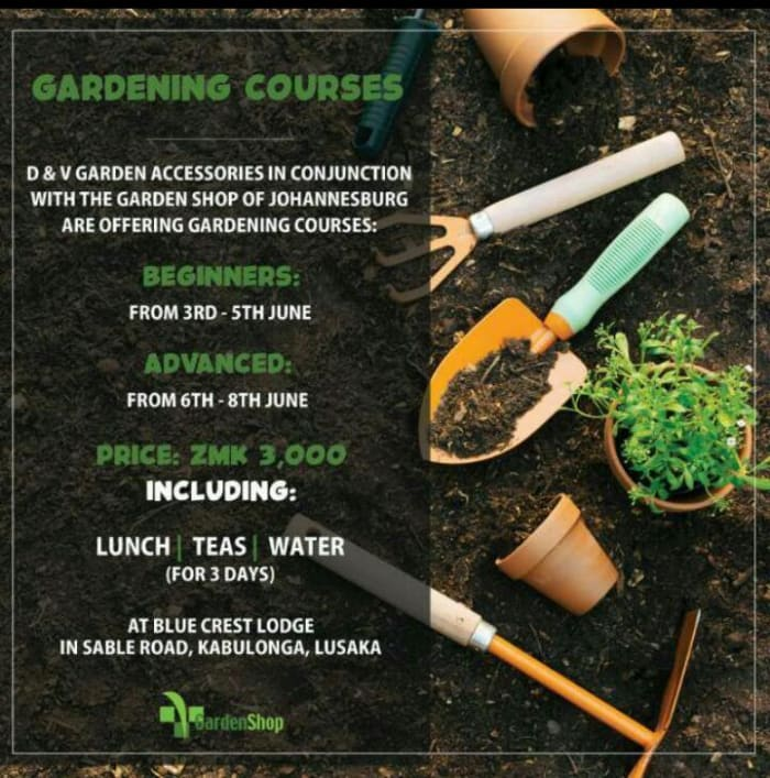 Gardening courses from beginners to advanced level