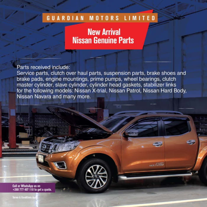 New arrivals on Nissan genuine parts