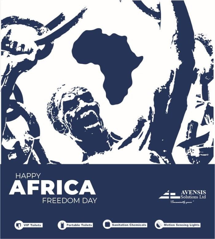 Happy Africa Freedom Day from Avensis Solutions Ltd