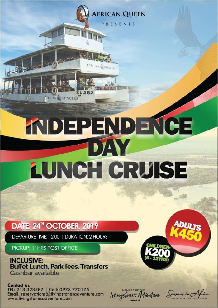 Independence Day lunch cruise