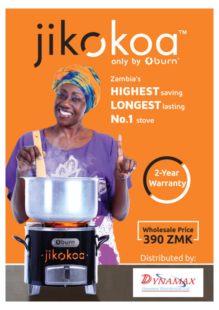 Jikokoa the modern Charcoal cook stove