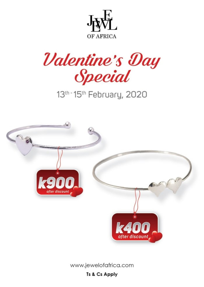 20% off jewelry and discounted heart bracelet gifts