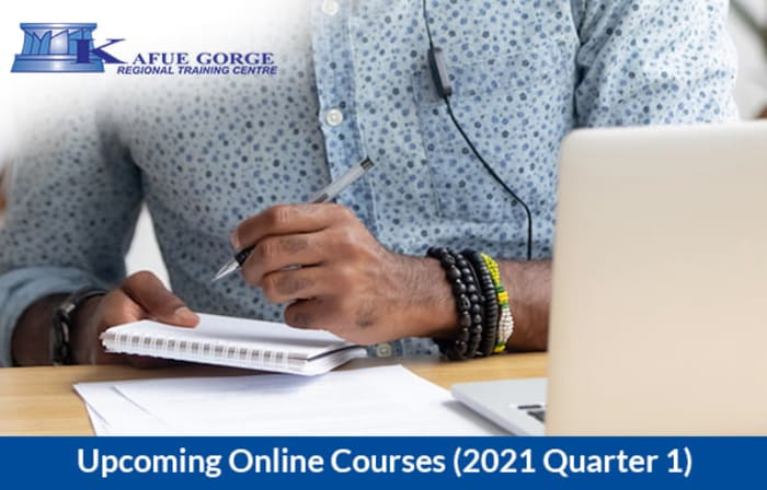 Enroll for online courses covering the energy sector