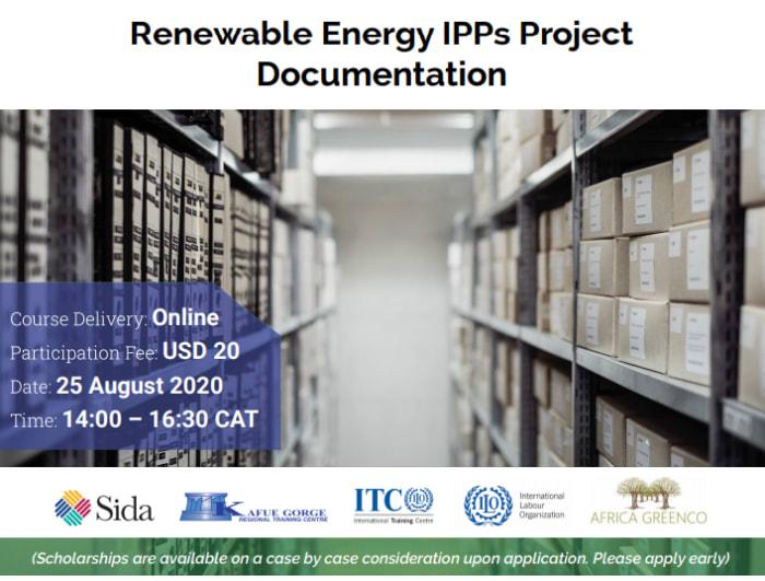 Renewable Energy IPPs Project Documentation