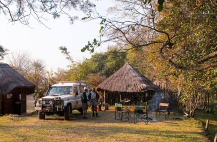 Great weekend camping destination in the Kafue National Park in Zambia