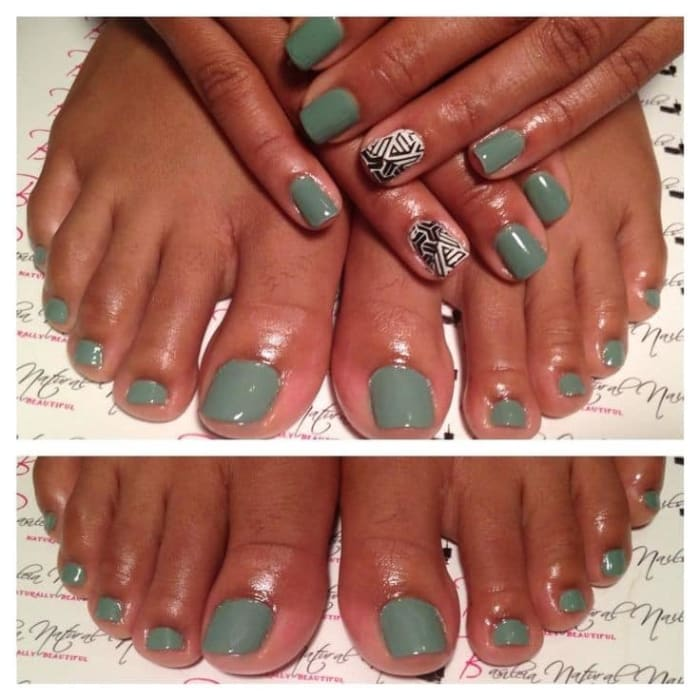 Pedicure and Manicure services