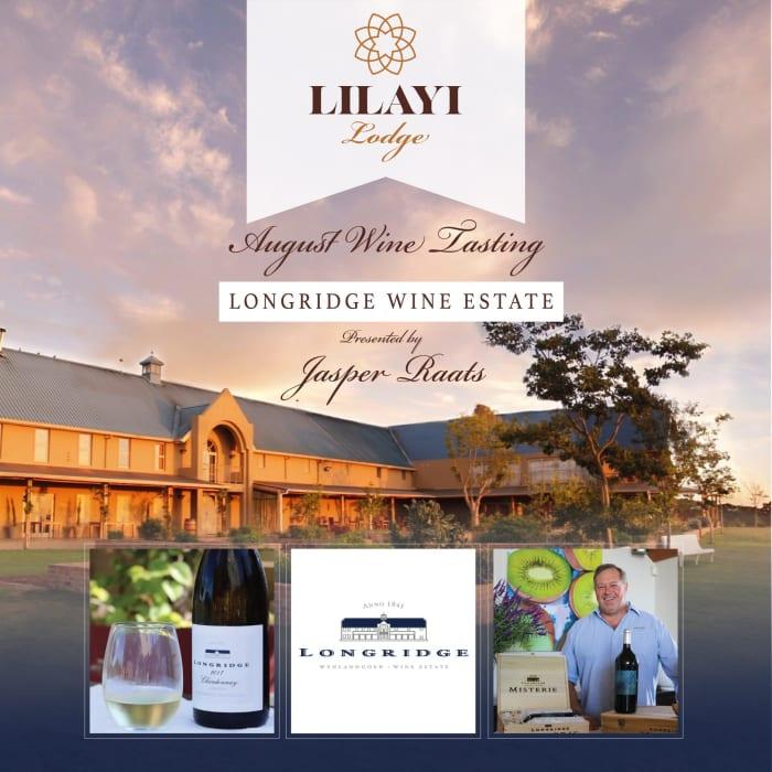 Longridge Estate Wine Tasting Event presented by Jasper Raats