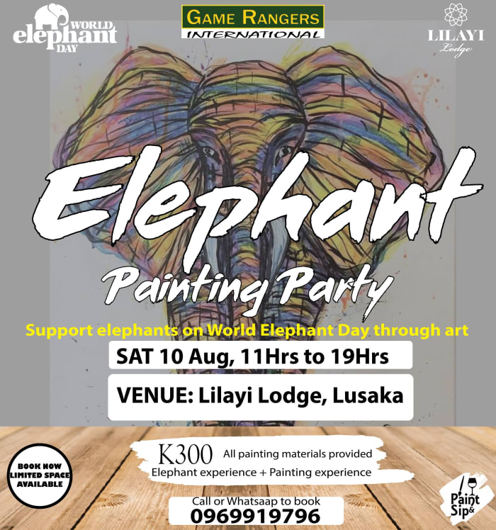 Support Elephants on World Elephant Day through art