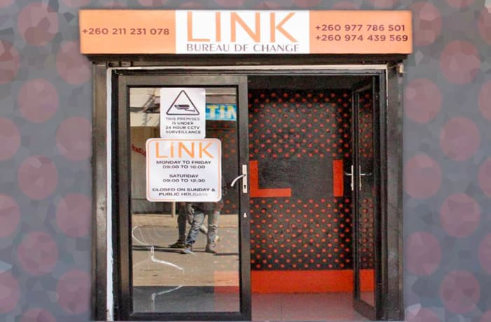 Secure premises with reserved customer parking