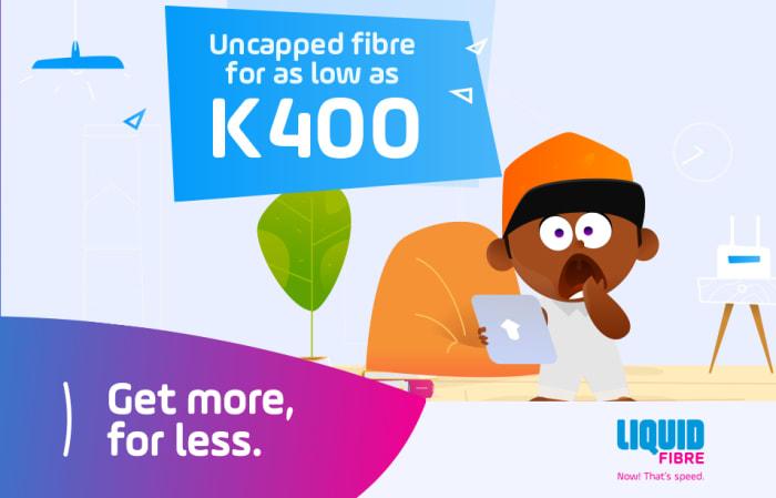 Uncapped fibre for as low as K400