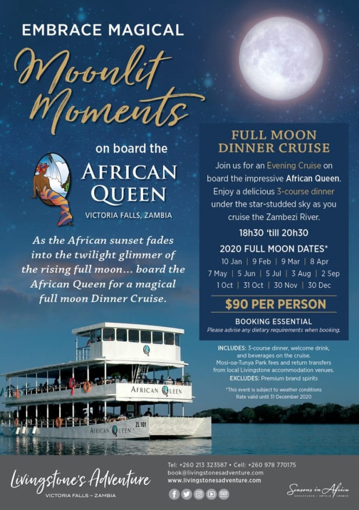Moonlit moments for US$90 per person