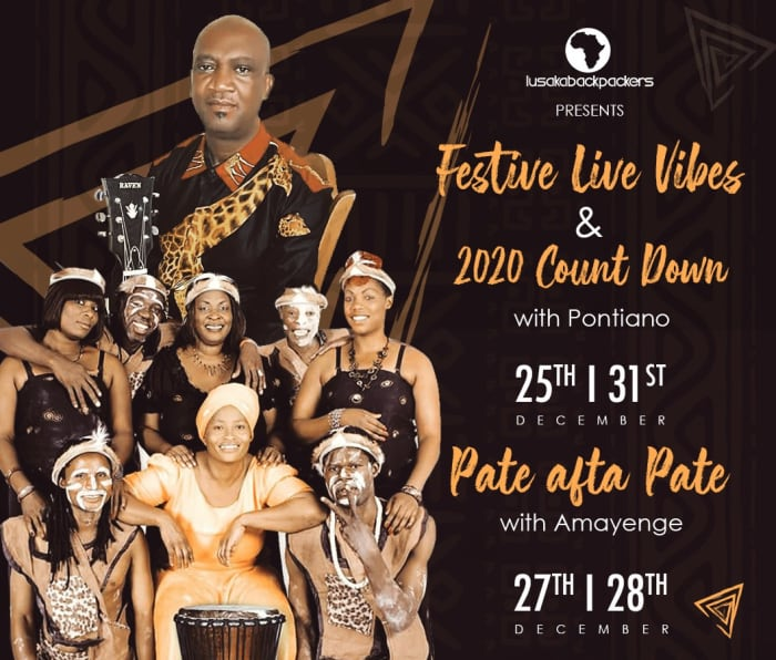 Festive live vibes and 2020 count down