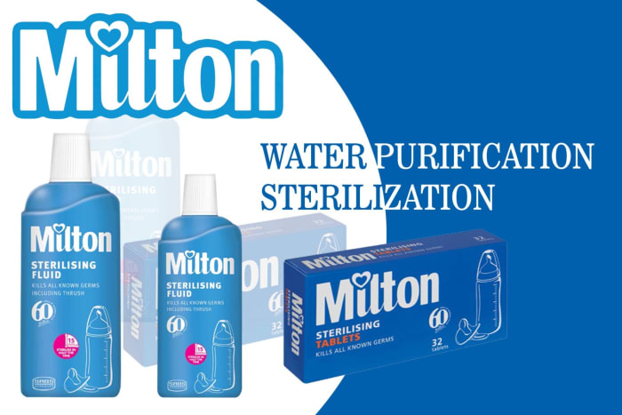 Milton sterilization and water safety