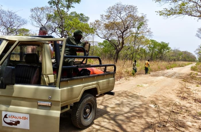 Game drives in the Kafue National Park
